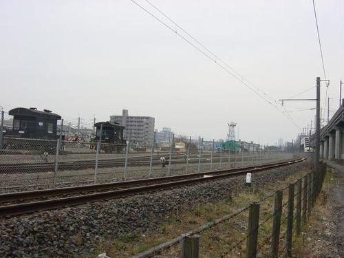 工事開始前の建設予定地(1)