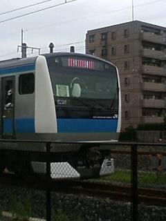 試乗会列車