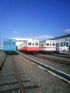 関鉄車両基地