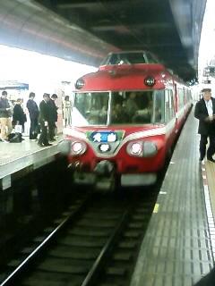 名鉄名古屋駅にて