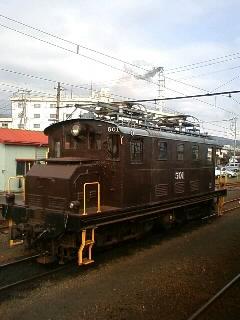 岳南鉄道  比奈駅にて