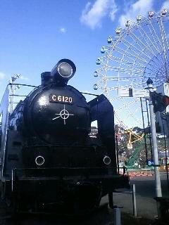 華蔵寺公園のC61