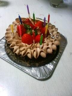 3日遅れのバースデーケーキ