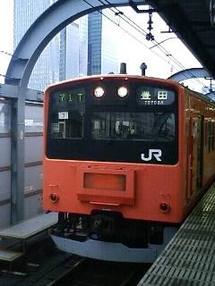 偶然にも中央線201系