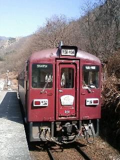 わたらせ渓谷鉄道 間藤駅