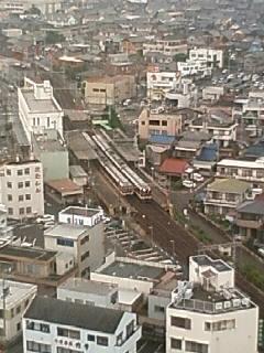 近鉄鈴鹿市駅俯瞰