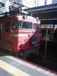 大阪駅で「日本海」